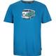 Elkline Gassenhauer t-shirt Heren blauw